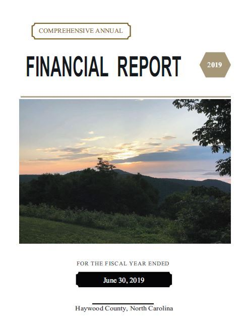 Comprehensive Annual Financial Report 2019 Opens in new window